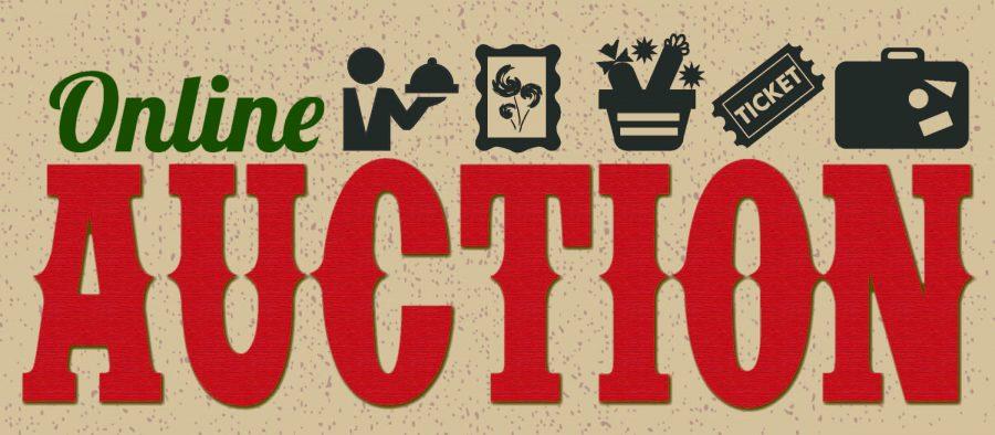 The Online Auction was a huge success!