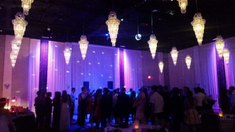 Students spend time having fun at Winter Formal.