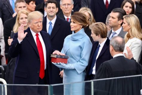 Donald Trump is the 45th President