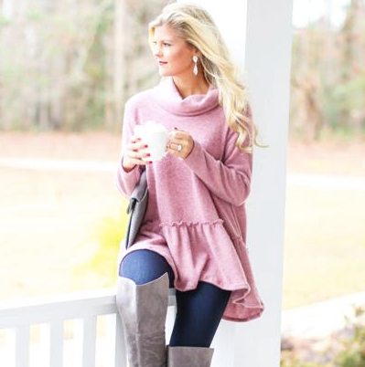 This adorable number is as cozy as it is affordable!