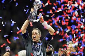 Tom Brady and the Lombardi Trophy