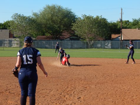 Varsity Softball Second in District