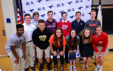 Signing Day Chapel