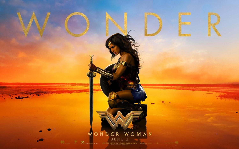 Wonder Women movie poster.