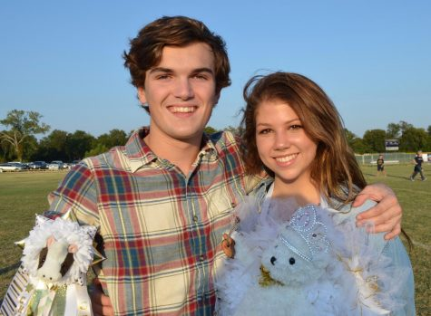 These seniors, Laney Barrett and Charlie Stubbs, are  featured in this week's Senior Spotlight