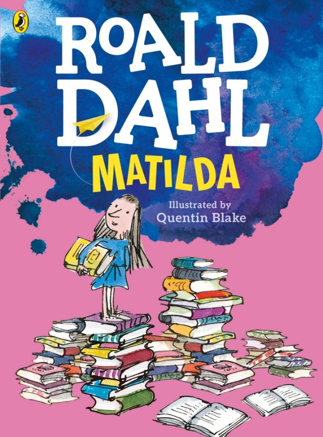 Book+cover+for+Roald+Dahl%27s+Matilda.