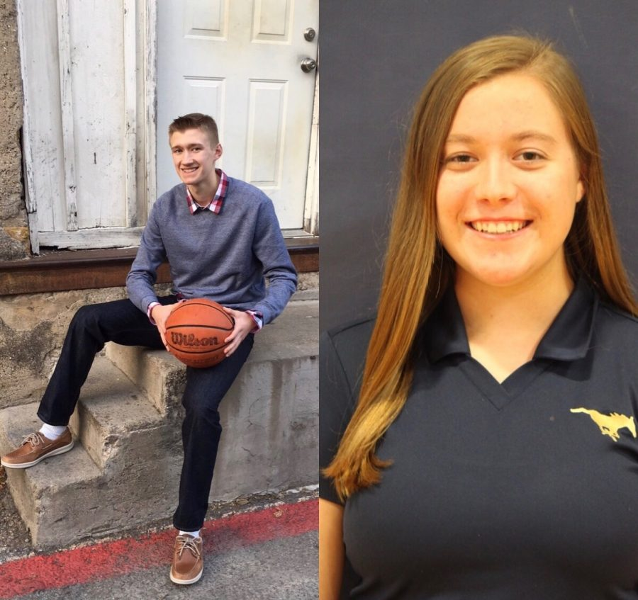 These seniors, Althea Wolfe and Cameron Badeaux, are featured on this week's Senior Spotlight.
