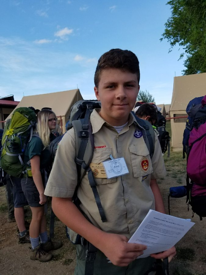 Will Boese Working Toward Eagle Scout Honor