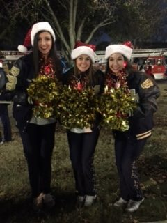 Juniors Madison Fitzgerald, Lauren Shackelford, and Kristen Daniels