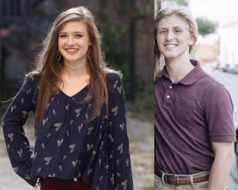 These seniors, Olivia Mitas and Greg Newland, are featured in this week's Senior Spotlight.