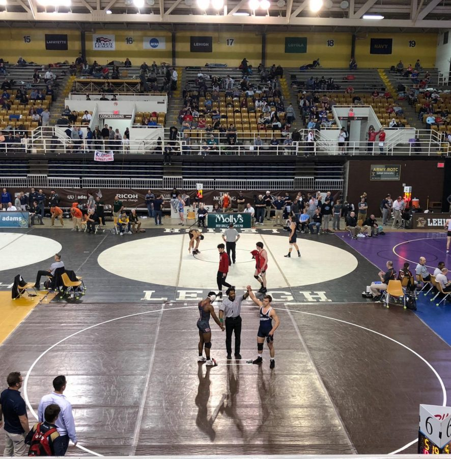 Will Harrell gets another win during Prep Nationals.