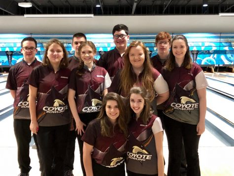 Lydia Gilbert participates in bowling team outside of school