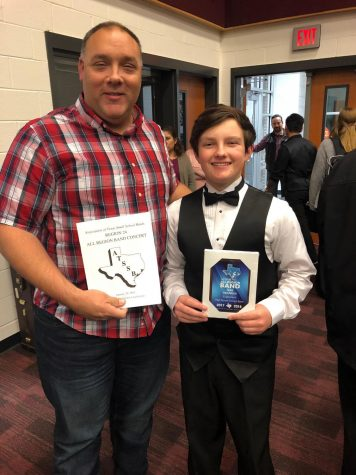 Jake Gerardis goes to All-Region for Band