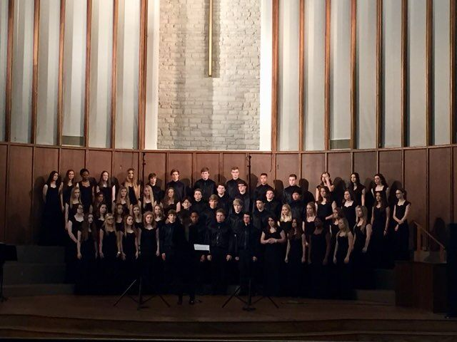 The+MCA+High+School+Choir+gets+ready+to+perform+at+the+TPSMEA+Choral+Assessment.