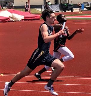 Senior Adrian Hydock competes at Regionals for a spot at State.