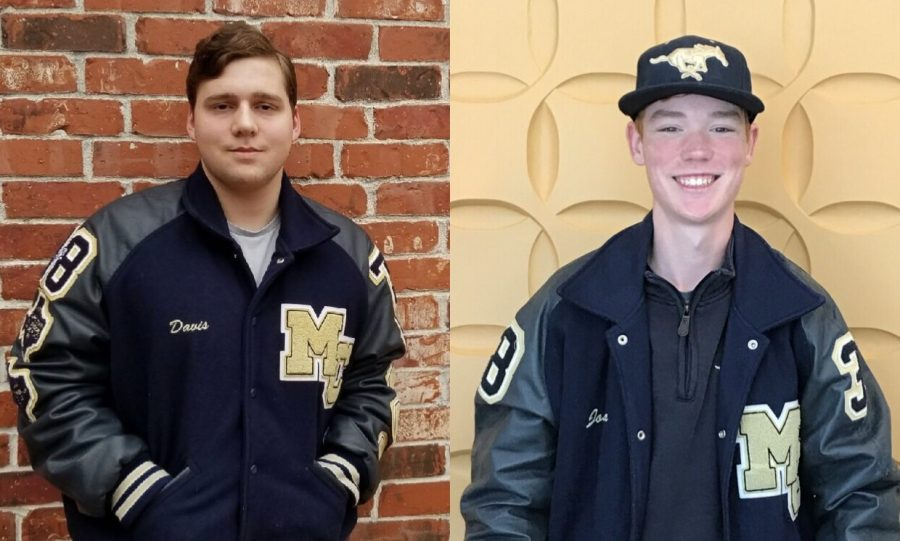 These seniors, Davis Madole and Josh Gutschlag, are featured in this week's Senior Spotlight.