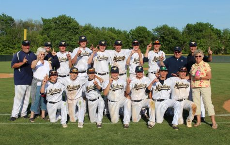Baseball Claims District Championship