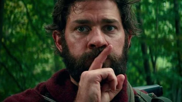 A Quite Place directed by John Krasinski took off in theatres after released.