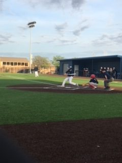 Jack Mitas, 8th hitting his second single of the game.