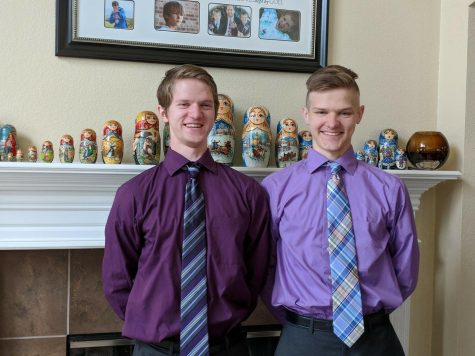 Seniors, John and Dmitri Atchison.
