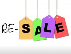 Resale Sidewalk Sale
