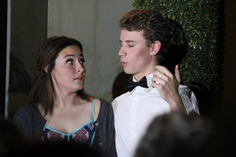 Senior, Abigail Gordon and Sophomore, Seth Pugh played Beatrice and Benedict