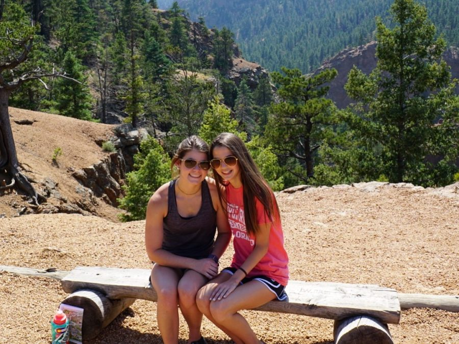 Senior Lauren Shackelford went with her family to Colorado this past June.