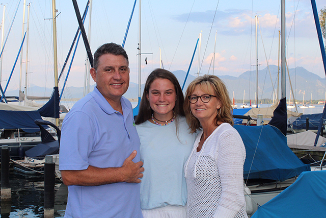 Along with the rest of her family, sophomore Annie Weichel took a nine day trip to Germany.