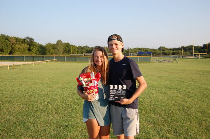 Sophomore Hayden Faulkner asked Emma Demagged one afternoon before going to the movies.