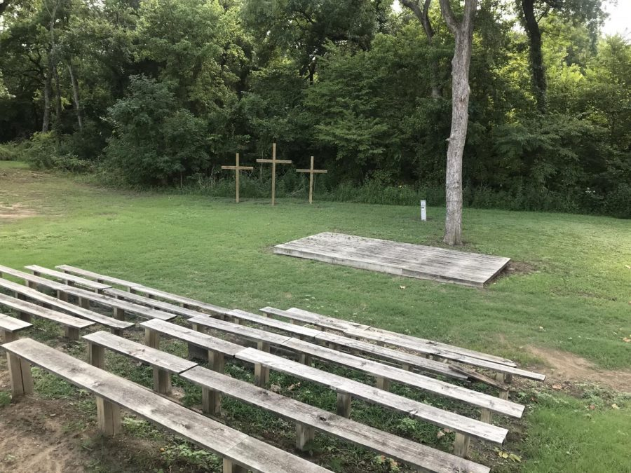 MCA's amphitheater was built many years and is still a symbol of what Christ has done for us.