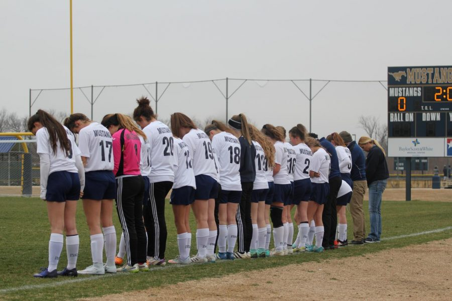 The+Lady+Mustang+soccer+team+is+ready+to+take+on+the+2018-2019+season.++