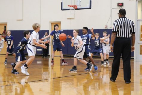 Girls Mustang Basketball vs Dallas Thunder