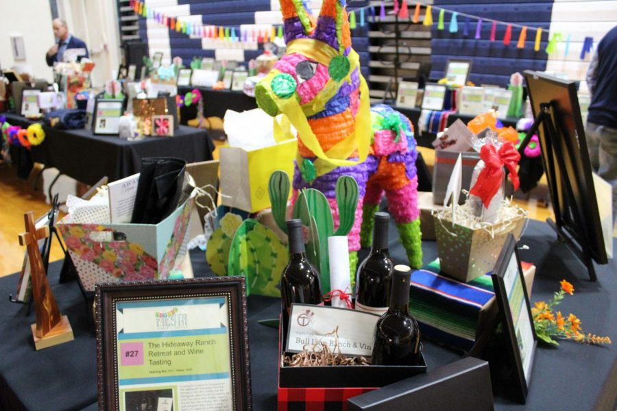 Another table of silent auction items for the silent auction.