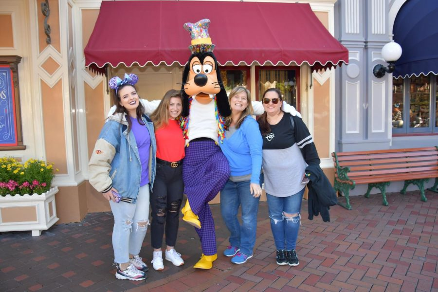 Sarah Suastegui and family went to Disneyland for a weekend trip.