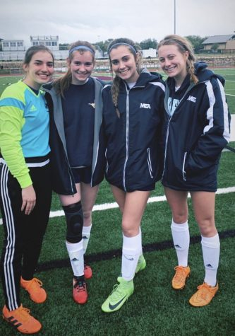 Varsity Girls Soccer Falls Short in the Area Round of Playoffs