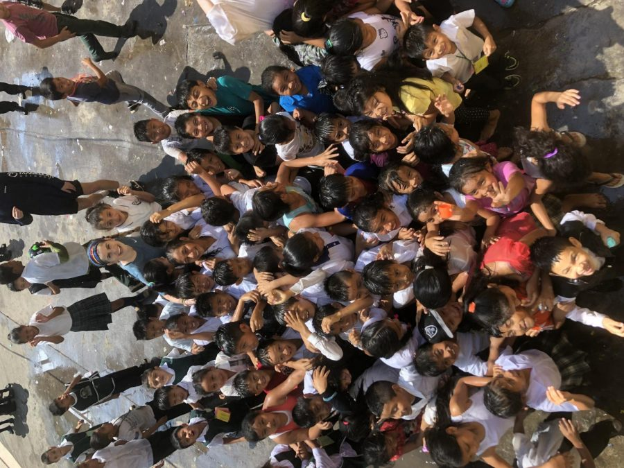 The Students of Zapote scream
