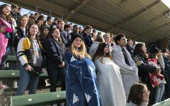 MCA sophomores enjoy the Texas A&M baseball game.