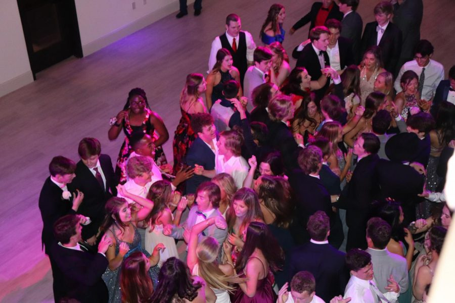 Upper School students danced to the music Saturday, April 27 at prom.