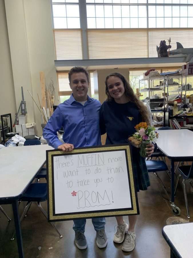 Mitch Boone asked Becca Gross during her art class.