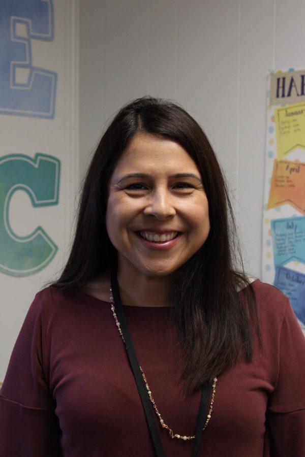 Celeste Harriman, 5th Grade teacher.