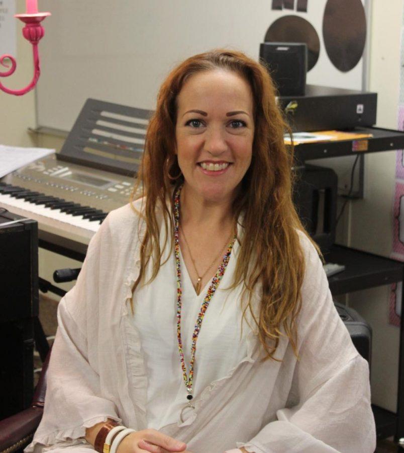 Allison Finke, Lower School Music and Tech teacher.