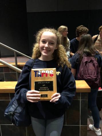 Birdie Martin: First Freshman in Advanced Theatre