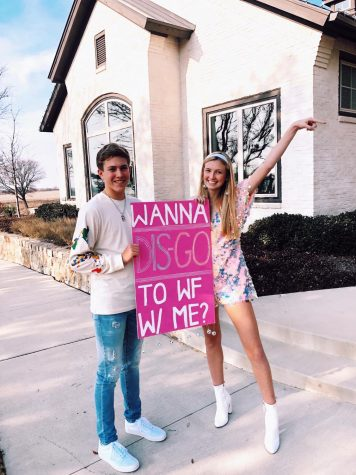 Freshman Ana Kate Bohlman asked former student Creed Butler one weekend at his house.