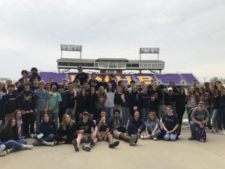 The Sophomore class at Mary Hardin Baylor.