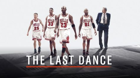 "The ""Last Dance"" 97-98 Bulls team."