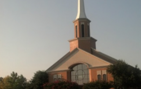 First Baptist McKinney, one of the churches in our community, empty due to COVID19.