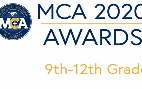 2020 MCA Academic and Timothy Awards