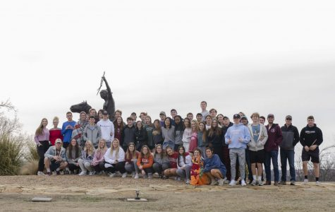 The last group picture taken of the Class of 2020 during senior retreat earlier this year.