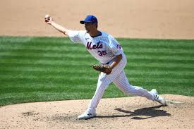 Jared Hughes pitching for the Mets. (courtesy)