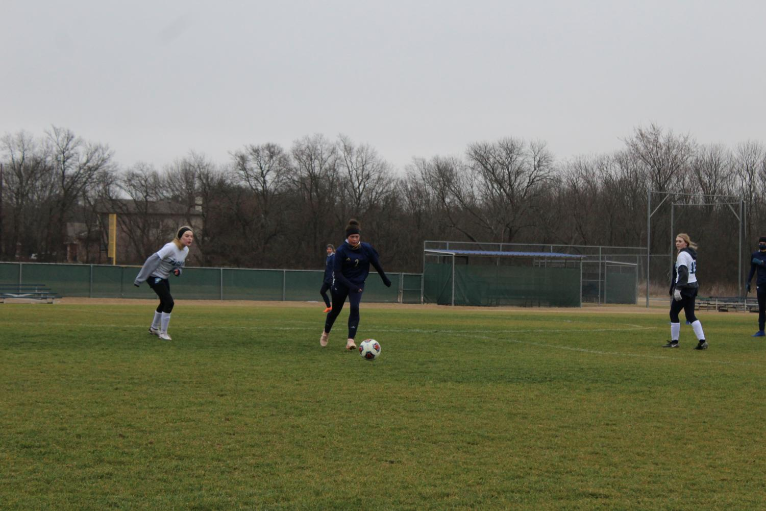 Lady+Mustangs+Soccer+Kicks+Off+Playoffs+with+a+Win